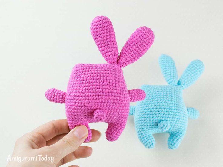 Patrón de conejito de Pascua Crochet gratis de Amigurumi Today
