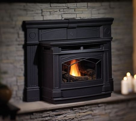 inset pellet stove design | Pellet Inserts - Long Island NY - Beach Stove and Fireplace