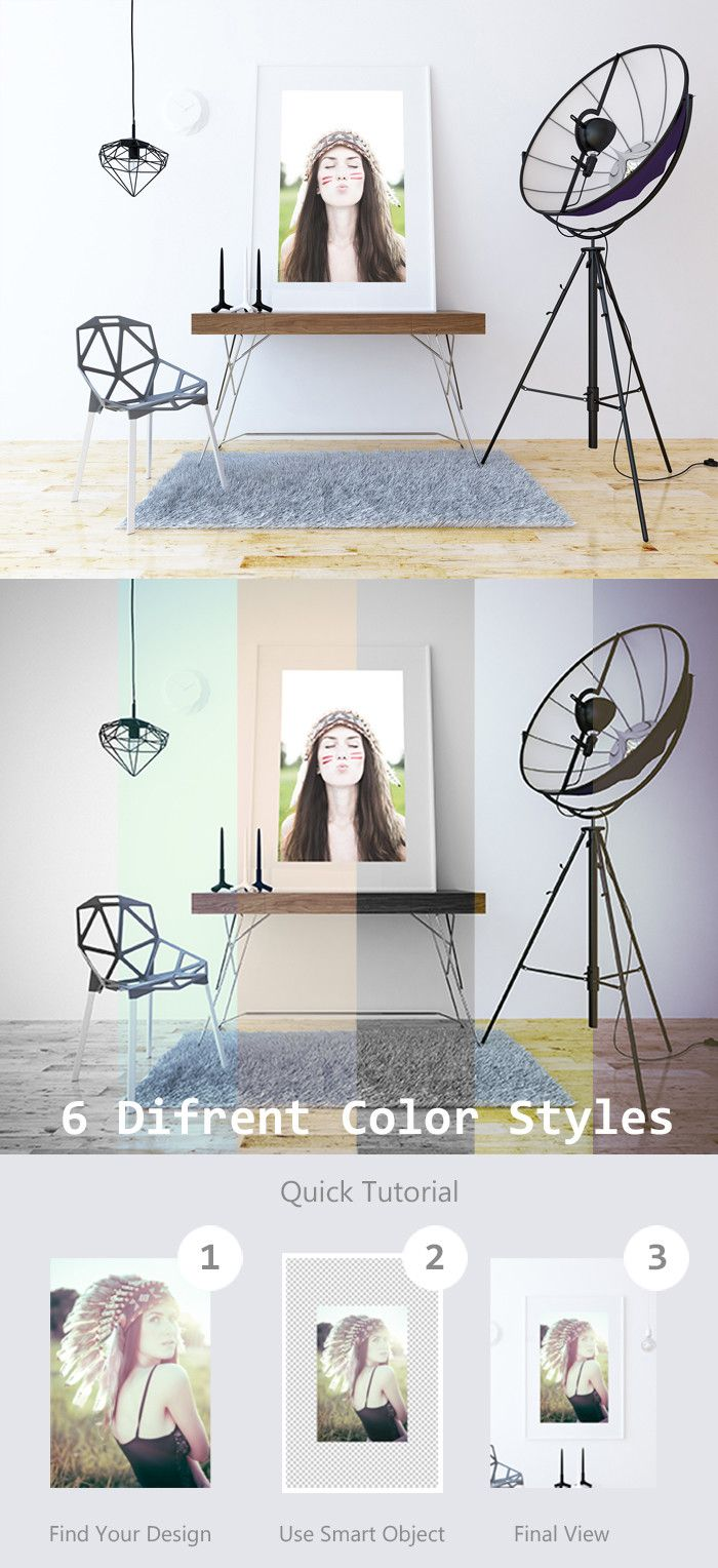 6 poster design photo mockups - Free Psd Poster Single Frame Mockup Vol 1 By Kaja Free Poster
