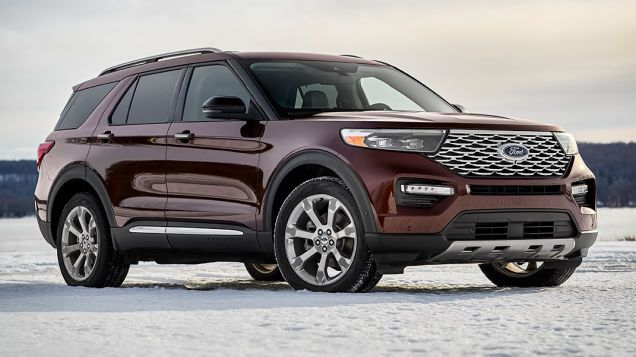 2020 Ford Explorer Gets Giant Touchscreen St Version Is Gloriously Rear Wheel Drive 2020 Ford Explorer Ford Suv