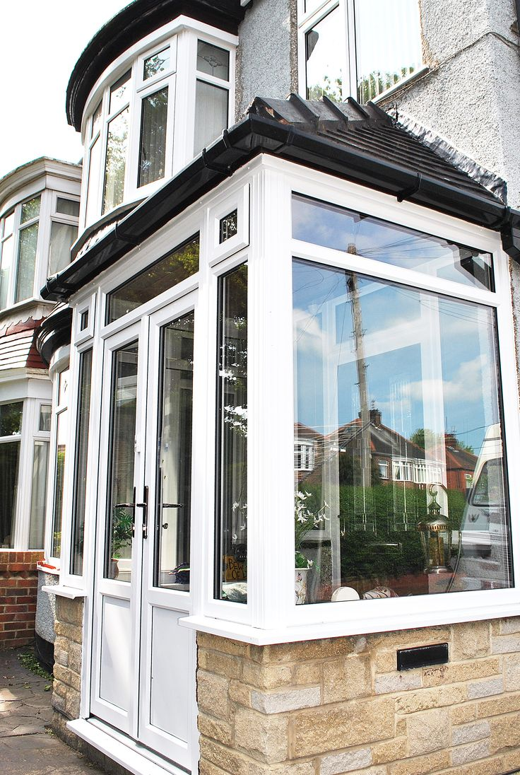44 best installations upvc front doors images on pinterest a beautiful full house of windows and french doors with replacement porch framework and windows rubansaba