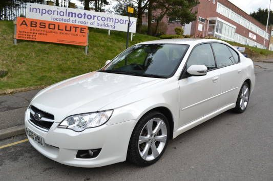 Used 2008 (08 reg) White Subaru Legacy 2.0 R 4dr Auto [150] for sale on RAC Cars