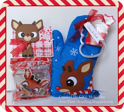 The Cricut Bug: Rudolph/Bumble Cookie Gift Sets