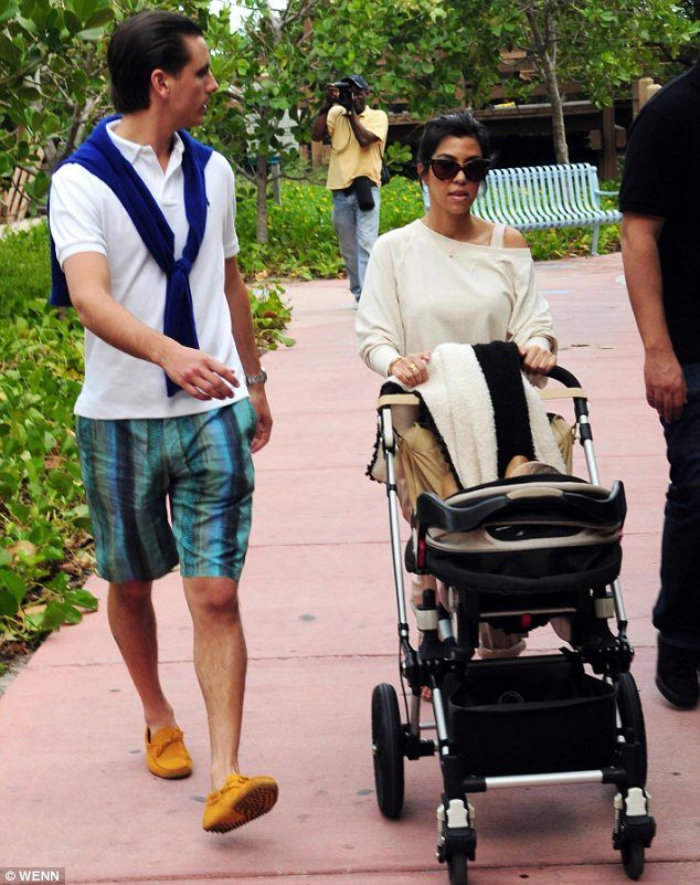 Kourtney Kardashian and Scott Dissick and their #Bugaboo #BugabooLovers