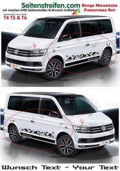 VW Bus T5 T6 Sport Wandern Outdoor Berge Mountain Seitenstreifen Aufkleber Set  in Auto & Motorrad: Teile, Auto-Tuning & -Styling, Karosserie & Exterieur Styling | eBay!