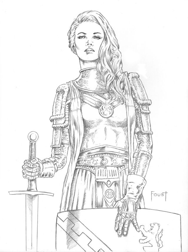 Free Coloring Pages Of Nude Women Warriors 115