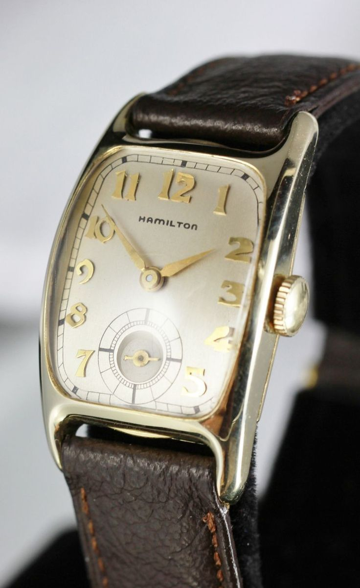 1941 Hamilton Boulton Vintage Men's Watch..