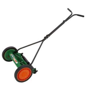 Scotts 16 in. Reel Mower-415-16S at The Home Depot..Seriously thinking about buying one of these. Will improve the quality of my lawn, save gas ($$) and provide some MUCH needed exercise!