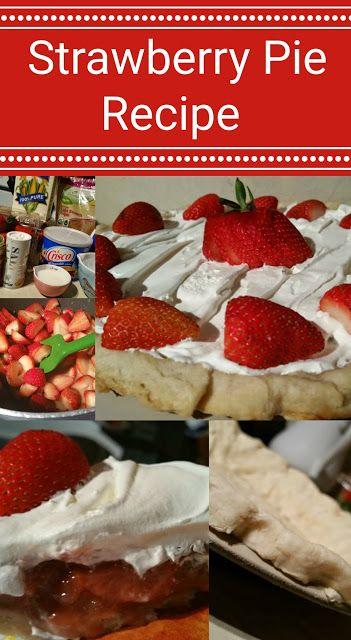 Recipe - Strawberry Pie