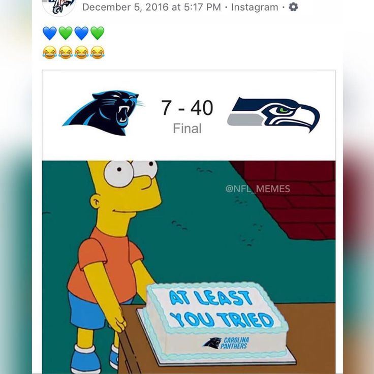 So this year it was the #Eagles -  Every year a new dominant NFC team has to be put in its place just ask the #Panthers  #nfl #nflmemes #seattle #seahawks #12thman #carolinapanthers #philadelphiaeagles