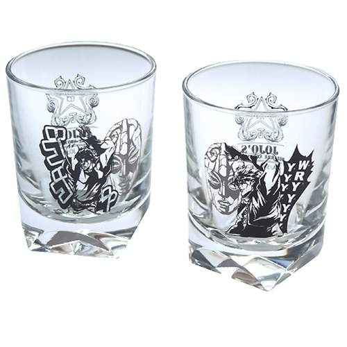 Two strange adventure ◎ Jojo shot glass set ☆ animated cartoon fancy goods (liquor glass)