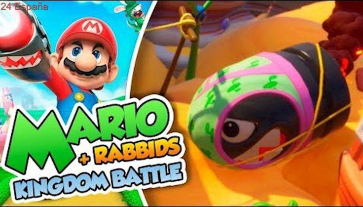 ¡El desierto de los gayumbos! - #07 - Mario + Rabbids Kingdom Battle en Español (Switch) DSimphony