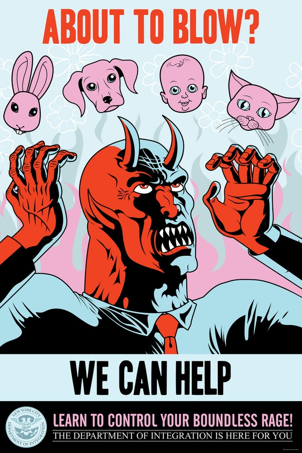 Ugly Americans Season One : Print Campaign by Devin Clark, via Behance