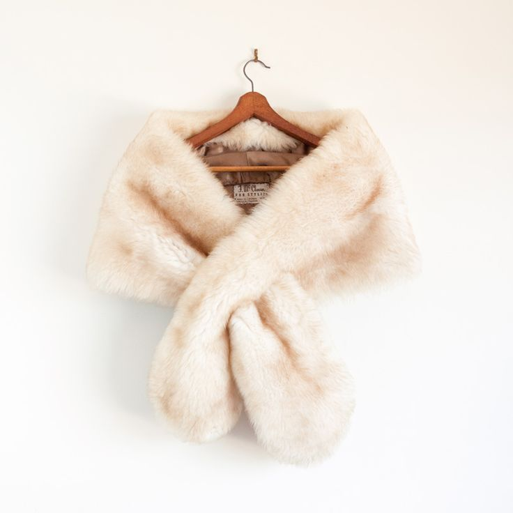 1. Something Vintage.  A fur stole to keep you warm & glamorous! #modcloth #wedding