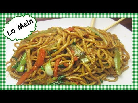 How to Make The Best Chinese Lo Mein ~ Chinese Food Recipe - This Chinese vegetable lo mein dinner is quick, easy, healthy and delicious. I show you my secret ingredient I use to get that smoky hint of flavor in the