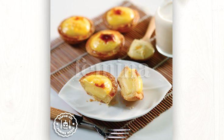 Resep Cheese Tart ala Hokkaido