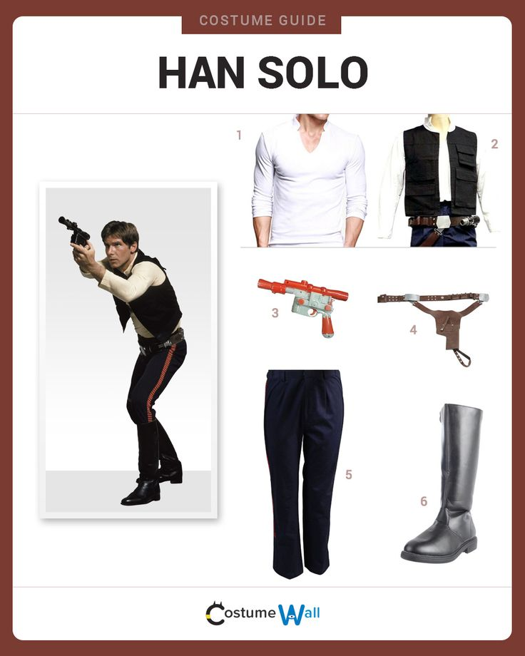 The 25+ best Han solo outfit ideas on Pinterest | Han solo halloween costume ideas Han solo ...