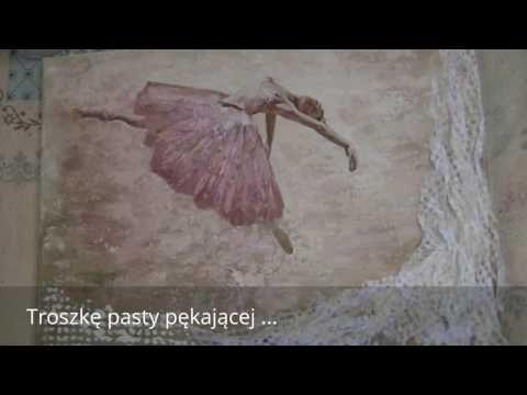 Baletnica - decoupage - YouTube