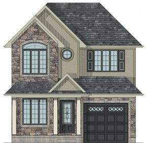 Scarborough two storey house plan. In God's time, this house will be filled with love, laughter and memories. This will be our future home here in Canada. Again, it may not look as elegant as the above photo but will surely make a way to get a house comfortably.