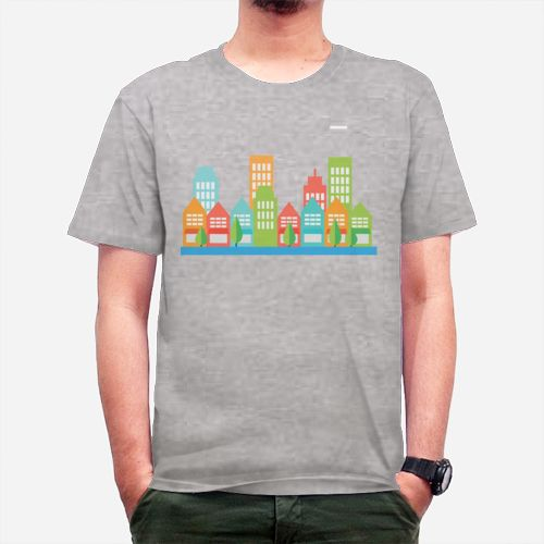 City dari Tees.co.id oleh KAOS AFTER TERM ( AT )