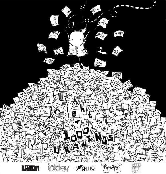 """""""The works of well-known artists, as well as novices, will be sold for R100 each in order to raise funds for charity. This prestigious one night exhibition will take place in a location within the heart of Joburg's CBD."""" Exhibitions have been held in Johannesburg, Cape Town, Dubai and Amsterdam.  Night of 1000 Drawings   South Africa Portfolio Travel Blog"""