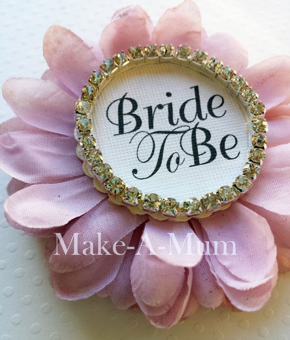 Orchid and Diamond Bride To be PinHand-dyed Bride by MakeAMum