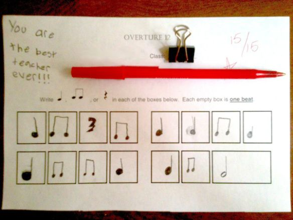 How to compose music ~ music theory ~ the 15 - 20 minutes of a lesson that you got to use crayons and pencils. I loved learning to draw a treble clf. still love doing that.  aa<3music
