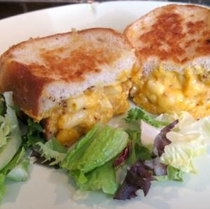 Macaroni and Cheese Grilled Cheese.