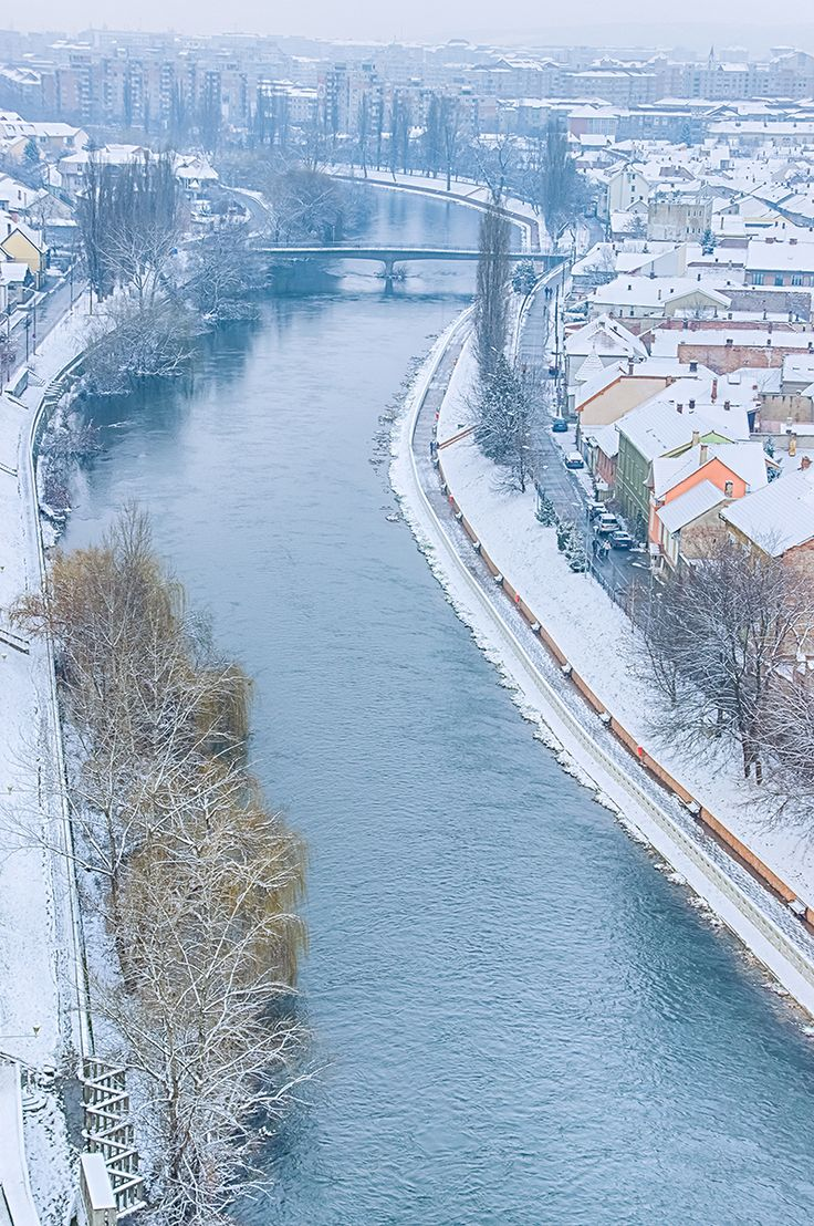 Crisul Repede privit din Turnul Primariei | Oradea in imagini