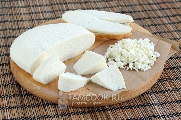 Фото сыра из козьего молока в домашних условиях
