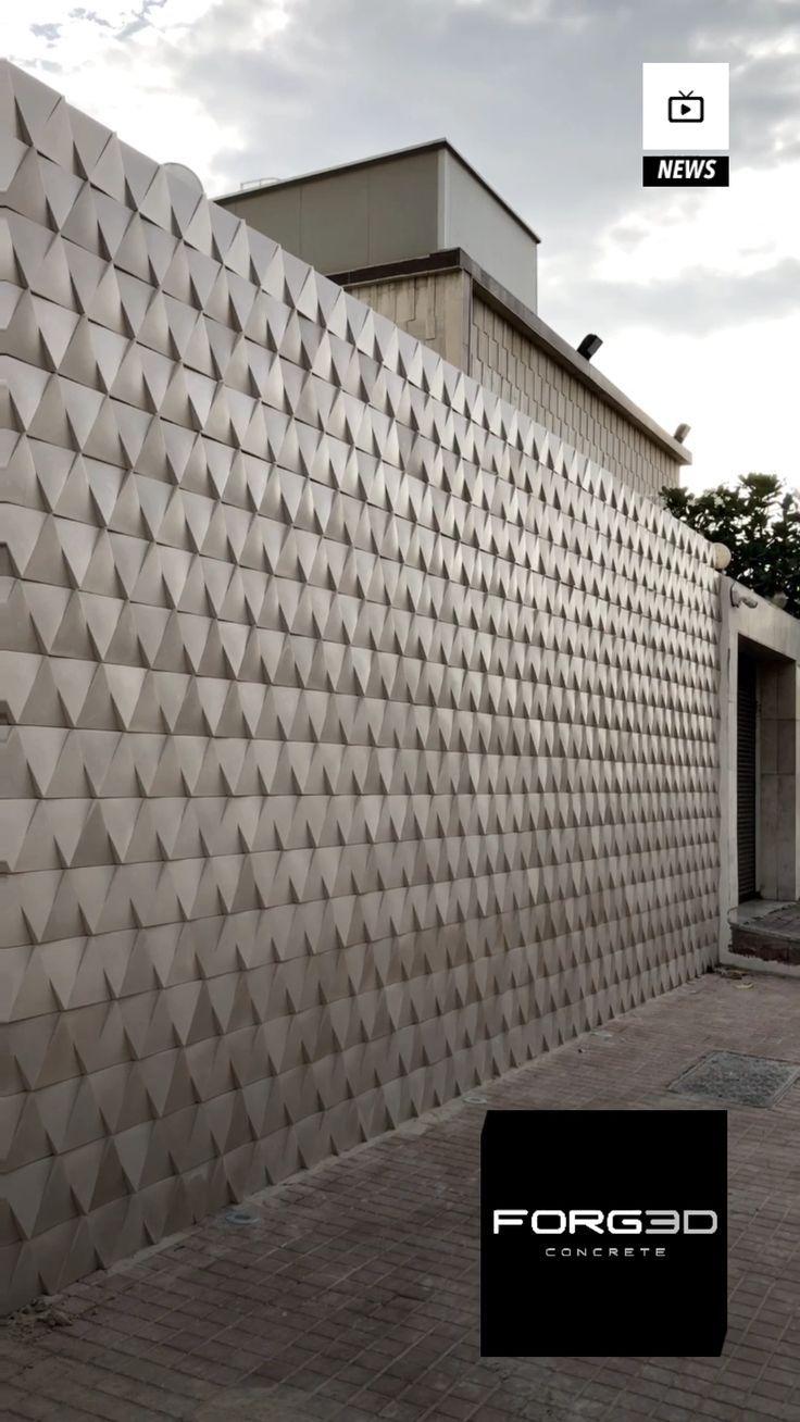 Concrete House Design Exterior Wall Tiles Wall Exterior Feature Wall