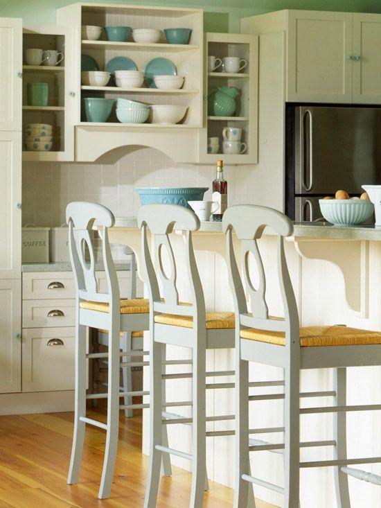 Scenic Green And Blue Vintage Kitchen Cabinet Storage Also: 277 Best Kitchen Ideas & Storage Tips Images On Pinterest