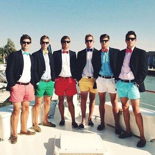 I've recently discovered that I have a new-found love for a classy, southern gentleman frat type of guy. I'm a little embarrassed, but there's somethin' bout a boy from the South.
