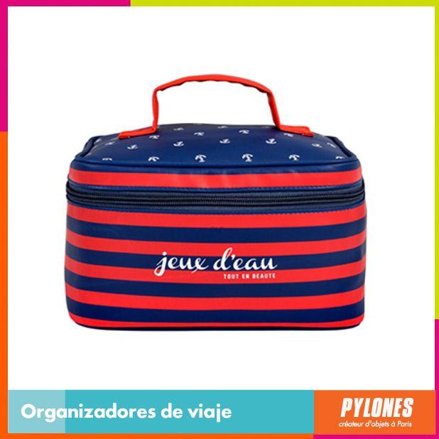 Organizador de viaje azul y rojo #SemanaSanta #Santo #Vacaciones  @pylonesco
