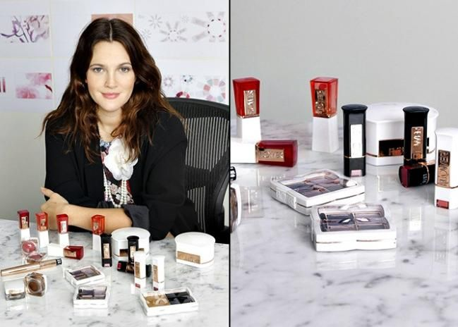 Drew Barrymore to launch Flower Cosmetics exclusively in Walmart! Now available!