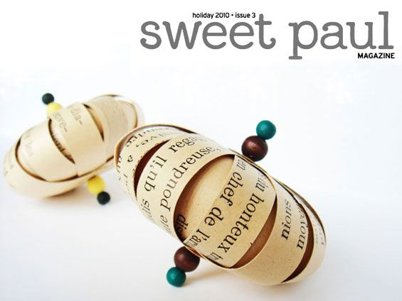 You vintage crafting genius!  Id heard about sweet paul in blogs but now to read on Etsy's front page he has a FREE online magazine ? On My Way PostHaste