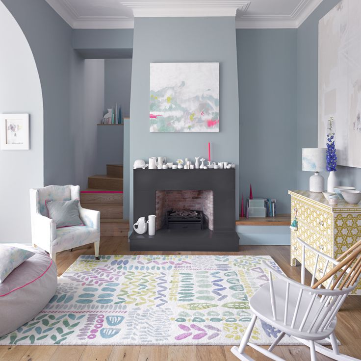 Signature bluebellgray designs are beautifully presented in this collection of luxury hand tufted rugs the delicate nature of the original watercolour is