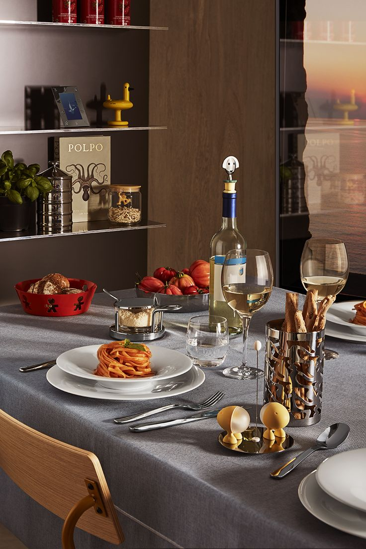 Our Easy Chic tablecloth for @Alessi Summer Sale campaign - easy chic-easy wash - no iron! just try it!
