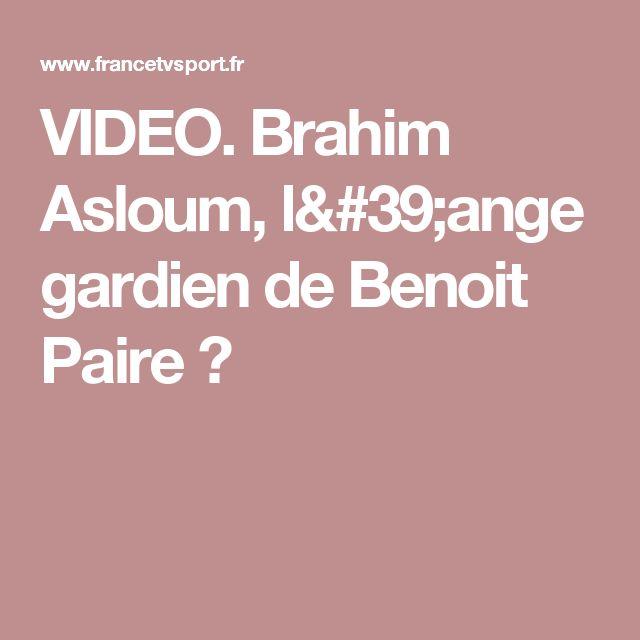 VIDEO. Brahim Asloum, l'ange gardien de Benoit Paire ?