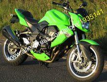Hot vente, Moto Kit de carénage pour Kawasaki Z1000 2007 2008 2009 Z 1000 07 08 09 pleine vert Aftermarket ABS carénage Body Kit