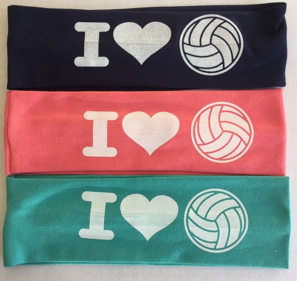 Volleyball headbands in many colors for your volleyball player.