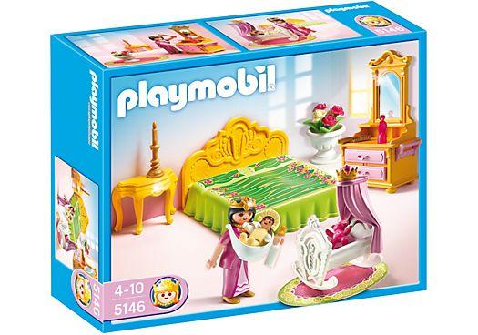 Koninklijke slaapkamer met wieg - PLAYMOBIL® Nederland