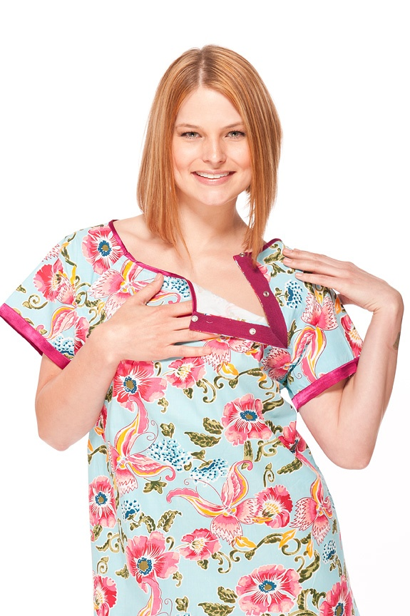 10 best 100 % organic cotton Gownies - designer hospital gowns ...