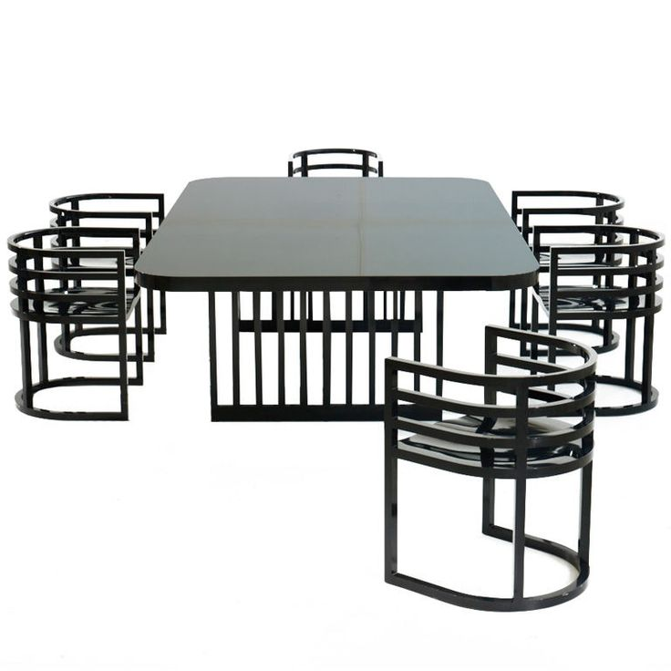 Attractive Richard Meier For Knoll International Dining Room Suite. USA, 1962. USA,  1982
