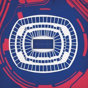 Fab.com   NFL Stadiums As Wall Art
