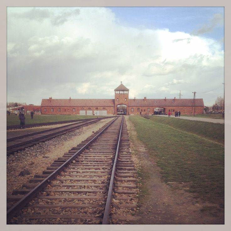 Thousands travelled to their deaths by train to Birkenau