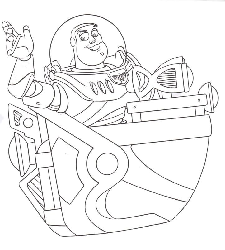 buzz lightyear fans have three printables to choose from here two are buzz light year coloring pages and the third is finger puppets or