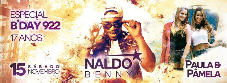 Show Nacional Naldo Benny   15/11/2014 Ingressos:https://tickets.antecipado.com/event/3894243