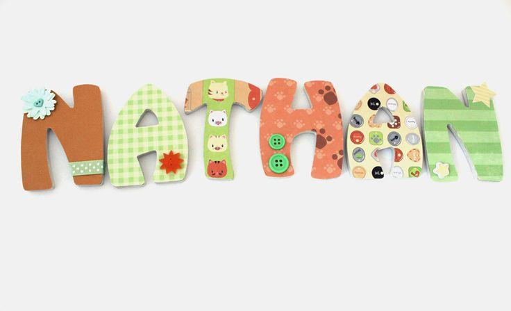 Lettres en bois de 15 cm de hauteur et 6 mm d paisseur - Experte en composants 15 lettres ...