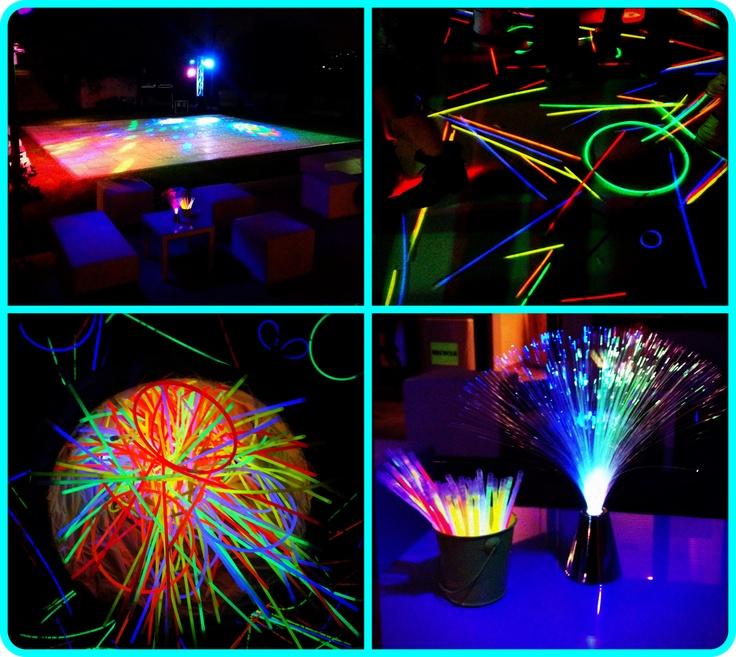 231 best black light decorating ideas for halloween party for Halloween dance floor ideas